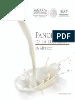 Panorama de la Lechería en México Septiembre 2016