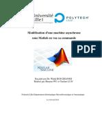 Modélisation d'une machine asynchrone sous Matlab en vue sa commande.pdf