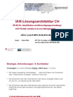 Haeni 2010 IAM Loesungsarchitektur CH