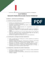 Temario EMTP Especialidad Electrónica