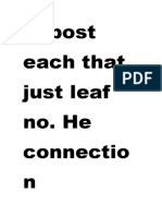 Is Post Each That Just Leaf No