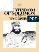 [David Winston] the Wisdom of Solomon