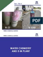 Water Chemistry & DM Plant Rev00