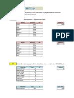 Excel Ejercicios Funciones Logicas