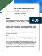 Doc 3 Flexibilización del Currículum para Atender la Diversidad