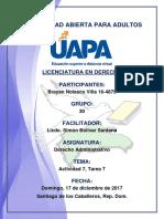 Tarea 7 Derecho Administrativo 17-12-2017