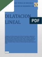 PRACTICA de Dilatacion Rrrr