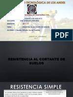 RESISTENCIA AL CORTE