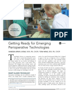 Getting Ready for Emerging Perioperative Technologies 2