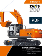 Hitachi Excavator ZX200-3, ZX200LC-3