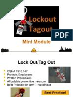 Lock Out Tag Out Mini Module PDF FINAL Jan 2014 2