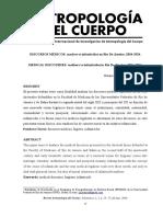 Antropologia Del Cuerpo (Art.) Discursos Medicos Madres vs Infanticidas