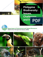 Philippine Biodiversity Issues and Challenges