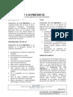 Ficha Tecnica Fasalum Af l10 Premium (v.02 )