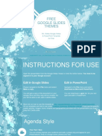 Abstract Watercolored Splashes Google Slides Themes
