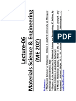 2K16-MSE Lec-6 Behavior of Materials