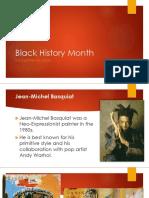 black history month artist spotlight