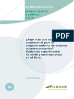 Metodologias para el empoderamiento y capacitación de las mujeres