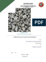 Informe de Caras Fracturadas ( Imprecion