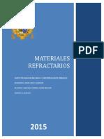 MATERIALES REFRACTARIOS