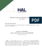 METHODOLOGIE_ Qu'Est-ce Que La Recherche Qualitative