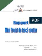 Rapport Tracé Routier