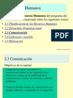 2.3 comunicacion