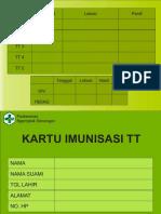 KARTU IMUNISASI