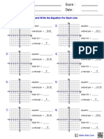 Algebra1 Func Graph Intercept Pt