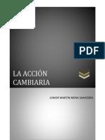 ACCION CAMBIARIA (1) Tarea de Comercial