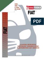 Manual de Programar Llaves Fiat