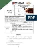 A - Dued Examen Parcial Control 1 2017 1 Tipo A