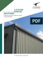 CZ Building System - FUXIN Steel Buildings Co., Ltd. 2015