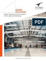 Pre-Engineered Building Solutions - FUXIN Steel Buildings Co., Ltd. 2015