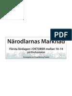 Närodlarnas Marknad Tranås Skylt (Omställning Tranås)