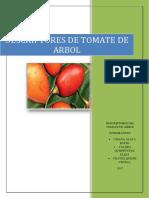 Vacia Tomate de Arbol Desccriptores