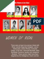Women of Jose Rizal