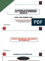 1 PPT- Normas Del Invierte MD COMAS