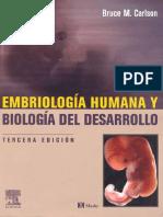 Embriologia Humana Carlson