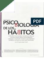 Neurociencias de Los Hábitos