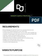 samplewebsiteproposal-130504074925-phpapp01