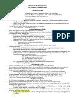 Unit 8 Notes