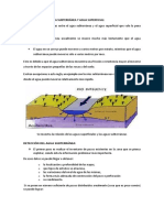 Relación Entre El Agua Subterránea y Agua Superficial