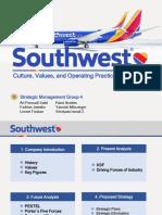 SM Group 4 Case Presentation - Southwest Airlines