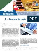 Artigo Técnico 2 - Controle de Custos Variaveis