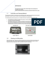 REF86100 Preventive Maintenance HumaCycler