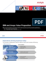 IBM-Avaya Value Proposition Final 052909