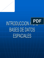 Introduccion BD Espaciales Teoria