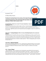 mitchel fletcher pd reference letter