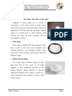 Types of Refined Sugar